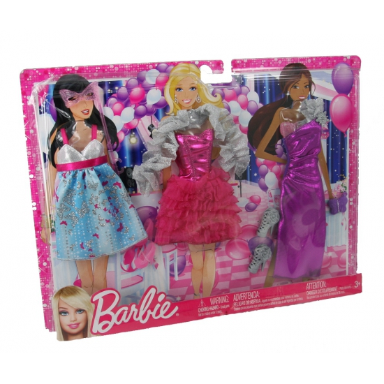 Barbiepop Kleding Set Glamour Bestellen